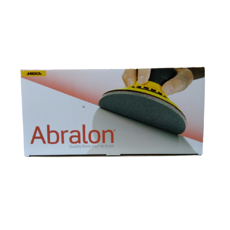 MIRKA ABRALON 150 mm krążek ścierny gr 500-4000