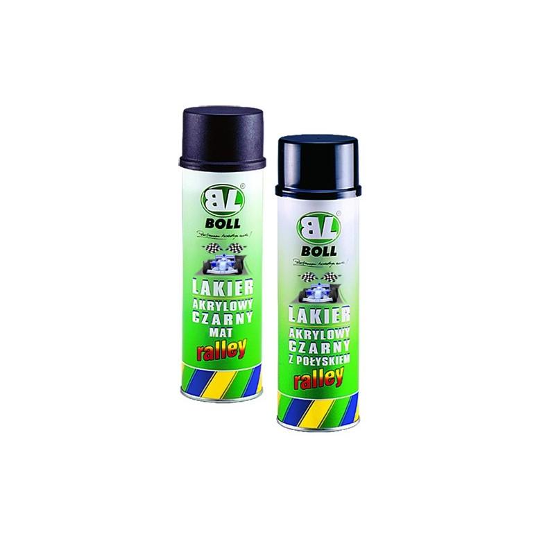 BOLL lakier akrylowy czarny - rally: mat, połysk spray 500 ml