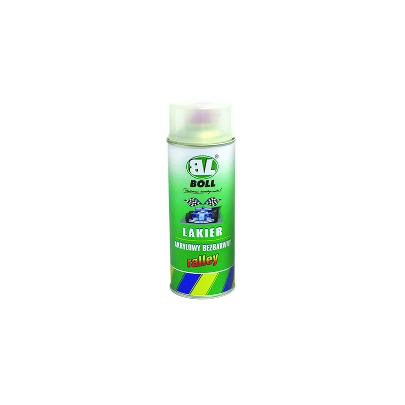 BOLL lakier akrylowy bezbarwny - rally spray 400 ml