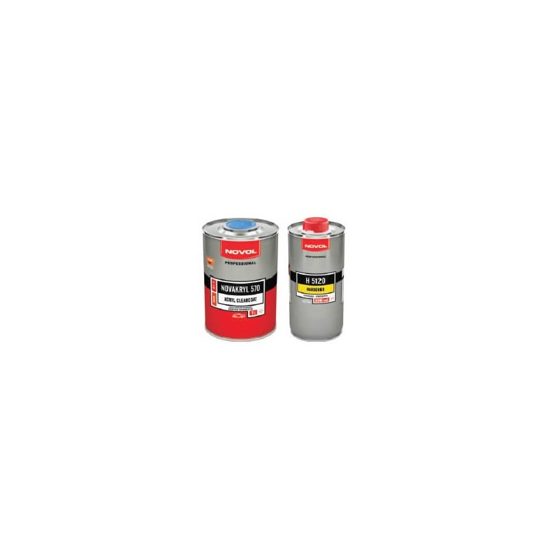 NOVOL lakier akrylowy bezbarwny 2+1 NOVAKRYL 570